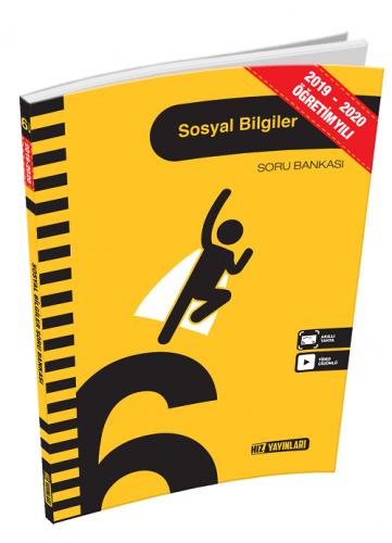Hız Yayınları 2020 6. Sınıf Sosyal Bilimler Soru Bankası Hız Yayınları