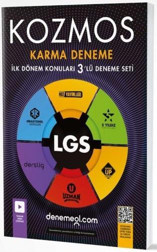 Hız Yayınları 8. sınıf LGS 1. Dönem Kozmos Karma 3 lü Deneme Seti Hız