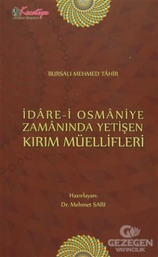 İdare-İ Osmaniye Zamanında Yetişen Kırım Müellifleri