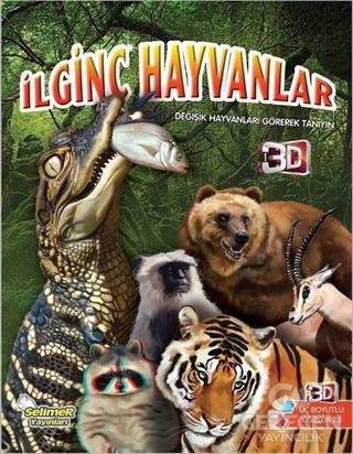 İlginç Hayvanlar (3 Boyutlu Gözlük İle)