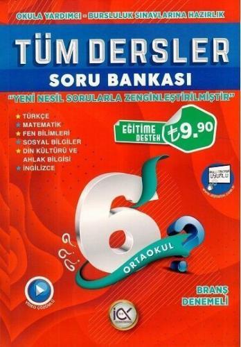 İlk Önce 6. Sınıf Tüm Dersler Soru Bankası İlk Önce Yayınları