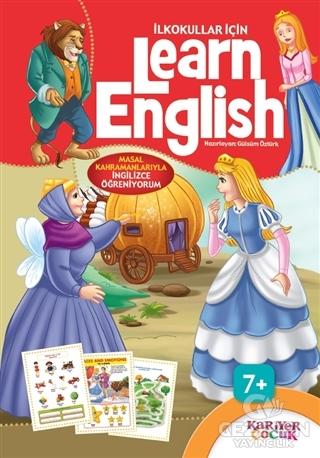 İlkokullar İçin Learn English (Kırmızı)