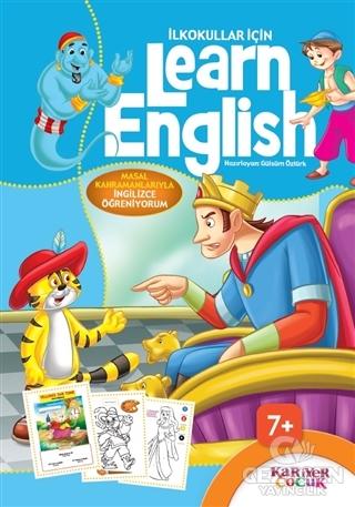 İlkokullar İçin Learn English (Mavi)
