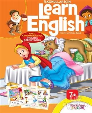 İlkokullar İçin Learn English (Turuncu)