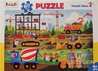 İnşaat Alanı - 80 Parça Puzzle