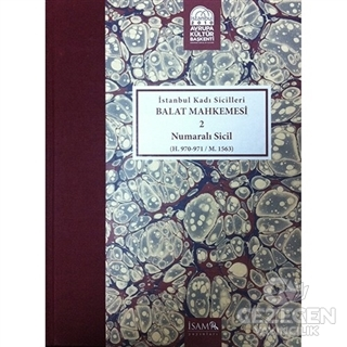 İstanbul Kadı Sicilleri - Balat Mahkemesi 2 Numaralı Sicil Cilt 11