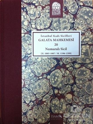 İstanbul Kadı Sicilleri - Galata Mahkemesi 20 Numaralı Sicil Cilt 35