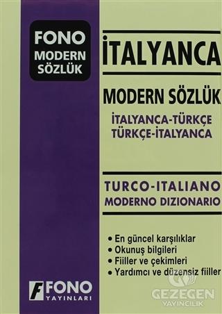 İtalyanca Modern Sözlük (İtalyanca / Türkçe - Türkçe / İtalyanca)