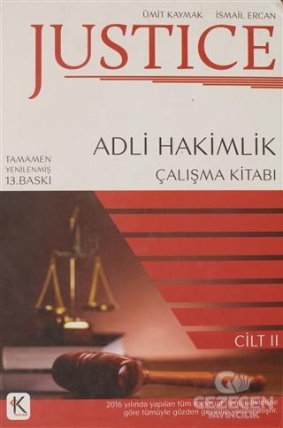 Justice - Adli Hakimlik Çalışma Kitabı 2.Cilt