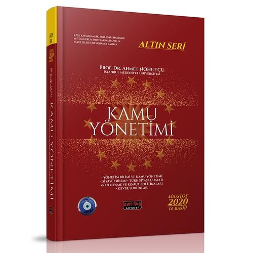 Kamu Yönetimi Konu Anlatımı Altın Seri - Ahmet Nohutçu 2020