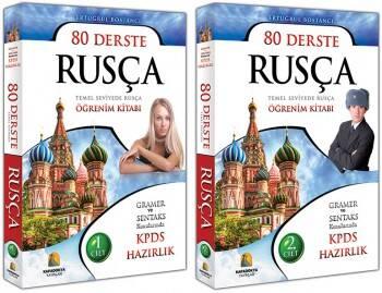 Kapadokya Yayınları 80 Derste Rusça 2 Cilt