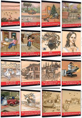Kapadokya Yayınları Almanca Hikaye 16lı Set