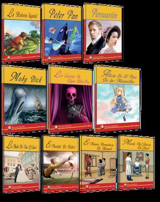 Kapadokya Yayınları İspanyolca Hikaye 10lu Set