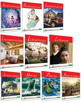 Kapadokya Yayınları İtalyanca Hikaye 10lu Set