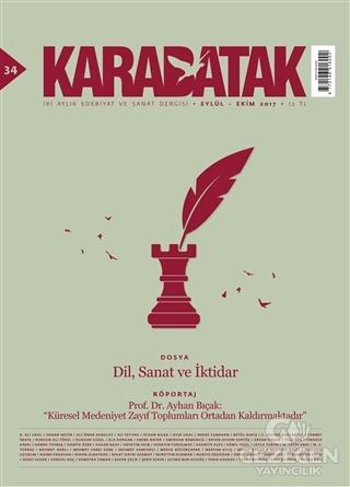 Karabatak Dergisi Sayı : 34 Eylül - Ekim 2017
