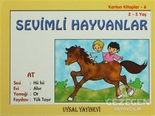 Karton Kitaplar 6 - Sevimli Hayvanlar