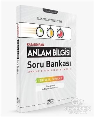 Kazandıran Anlam Bilgisi Soru Bankası | RTY Rota Yayınları - Ara Sınıf