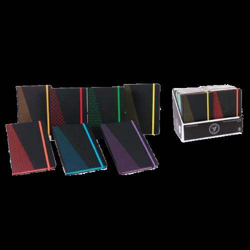 Keskin Color Bloknot Paturns Lastikli Çizgili 80 YP 14x20 147945-99