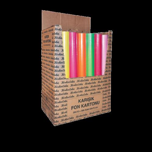 Keskin Color Fon Kartonu Spiralli 35x50 15 Renk 200825-99