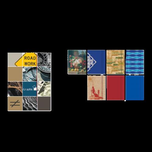Keskin Color Resim Dosyası Desenli Lastikli 27x36 120100-99