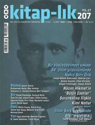 Kitap-lık Dergisi Sayı: 207 Ocak - Şubat 2020