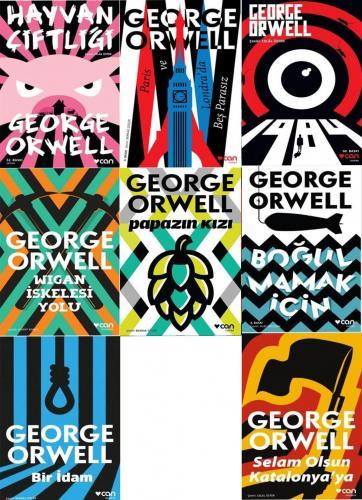 George Orwel  Seti 8 Kitap | Can Yayınlar