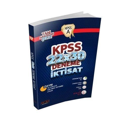 KPSS A Grubu İktisat 22x30 Deneme Savaş Yayınları