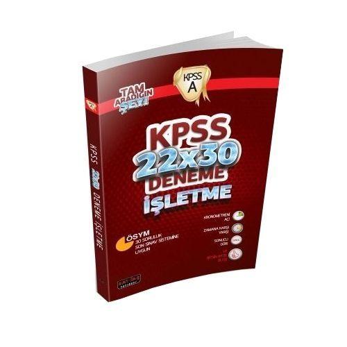 KPSS A Grubu İşletme 22x30 Deneme Savaş Yayınları