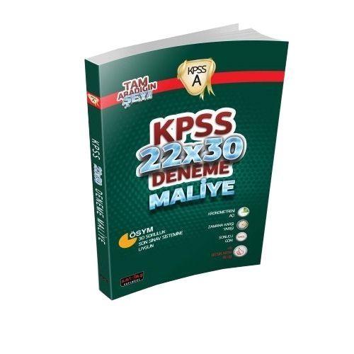 KPSS A Grubu Maliye 22x30 Deneme Savaş Yayınları