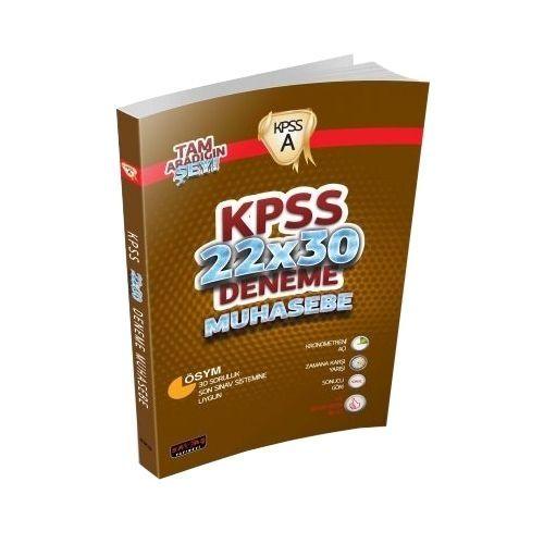 KPSS A Grubu Muhasebe 22x30 Deneme Savaş Yayınları