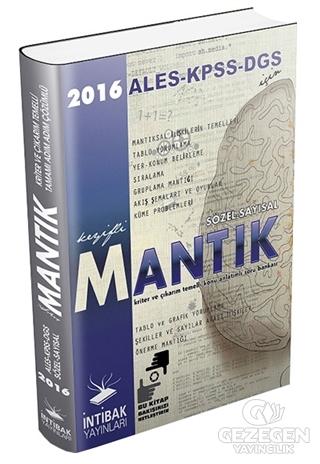 KPSS - ALES - DGS İçin Sözel Sayısal Mantık Kitabı