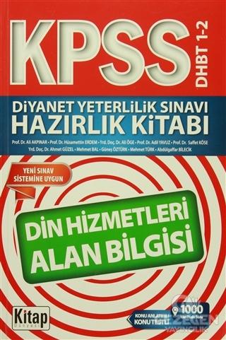 KPSS DHBT 1-2 Diyanet Yeterlilik Sınavı Hazırlık Kitabı