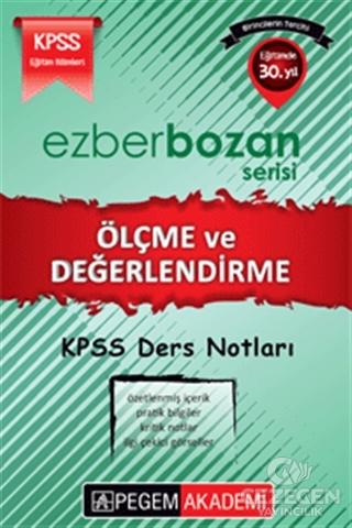 KPSS Ezberbozan Ölçme ve Değerlendirme Ders Notları