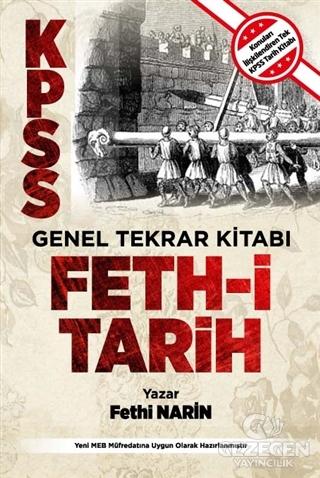 KPSS Genel Tekrar Kitabı Feth-i Tarih
