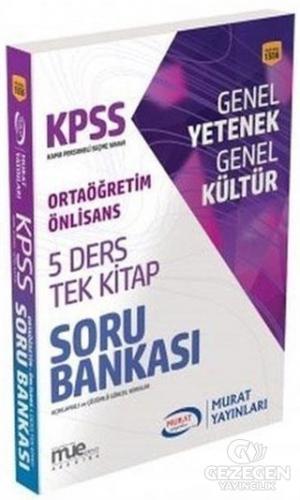 KPSS Ortaöğretim Ön Lisans 5 Ders Tek Kitap Soru Bankası (1556)