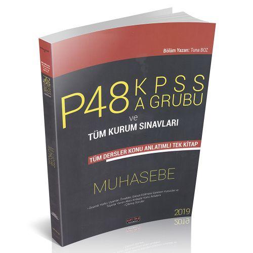 KPSS P48 A Grubu Muhasebe Konu Anlatımlı Savaş Yayınları 2019