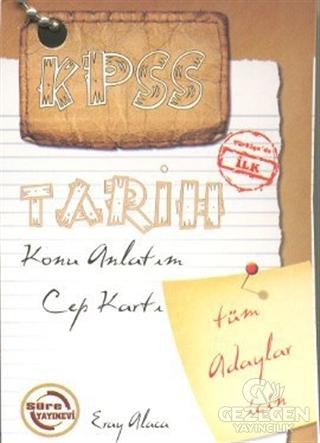 KPSS Tarih Konu Anlatım Cep Kartı