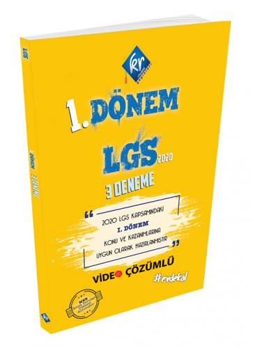 KR Akademi LGS 1. Dönem 3 Deneme Video Çözümlü KR Akademi
