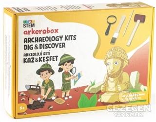 Kral Şuppiluliuma Arkeoloji Seti Kaz ve Keşfet (5+ Yaş)