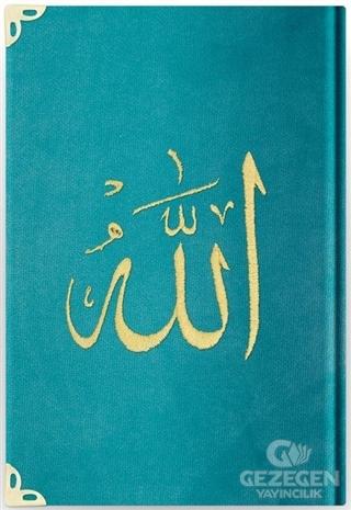 Kuran-ı Kerim (Kadife, Yaldızlı, Hafız Boy)