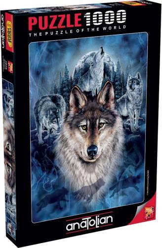 Anatolian Kurt Timi Wolf Team 1000 Parça Puzzle - Yapboz
