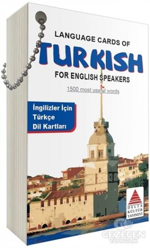 Language Cards Of Turkish For English Speakers