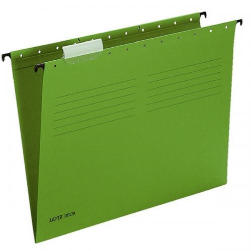 Leitz Askılı Dosya Telsiz Karton A4 Yeşil 6515
