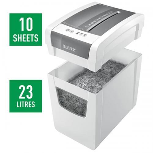 Leitz Evrak İmha Makinası IQ Slim Home Office Beyaz L-8001