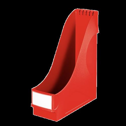 Leitz Kutu Klasör (Magazinlik) Plastik 9.8x31.8x29.1 Kırmızı 2425T