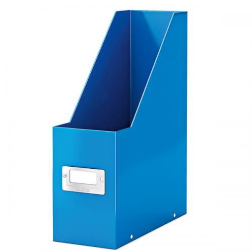 Leitz Kutu Klasör Plastik Wow Metalik Mavi 6047