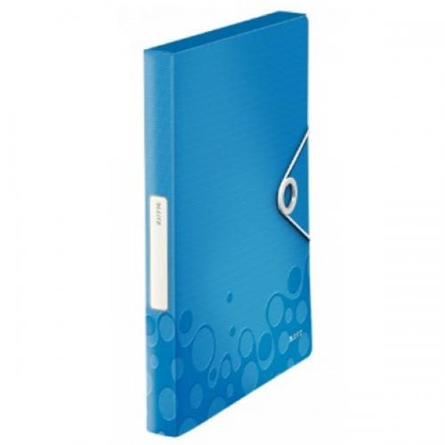 Leitz Lastikli Dosya Active Wow Kalın A4 Metalik Mavi 4629-00-36