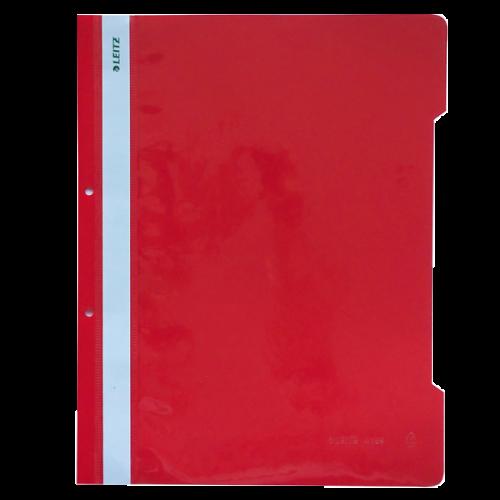Leitz Telli Dosya Plastik Kırmızı L-4189