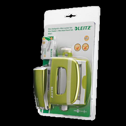 Leitz Zımba Seti Wow Zımba-Perfaratör ( Delgeç ) Yeşil 5561-20-64