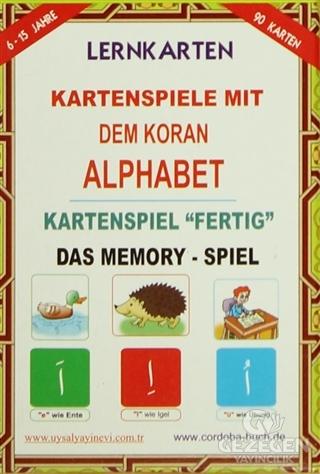 Lernkarten Kartenspiele Mit Dem Koran Alphabet